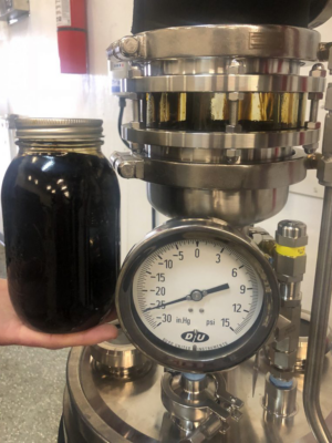 CBG Crude Oil Liter